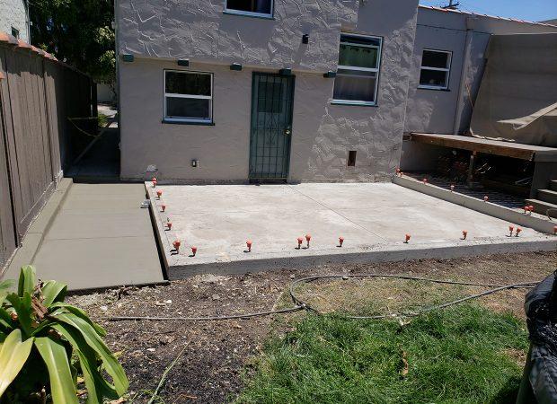 LG Concrete patio